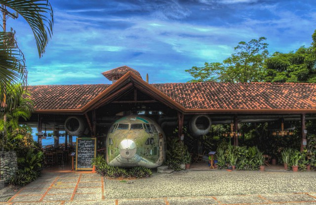 El Avion Restaurant and Bar Costa Rica