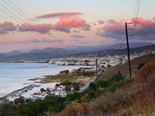 sunset sea summer nature water clouds marina landscape evening mediterranean view kreta greece crete kriti kissamos
