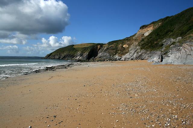Porthbeor Beach