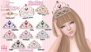 .tsg. Tiaras @ The Arcade | by Eilfie Sugarplum