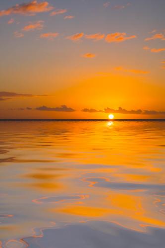 sun sky sunset dusk clouds albion rivièrenoire mauritius mu