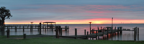 sunrise montross virginia northernneck river pier
