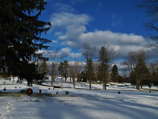 Winter @ Lawnhaven Cemetery, Armstrong County PA