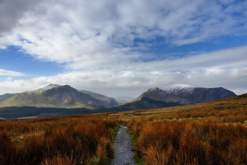 Snowdon Ranger path on a cold February day. | by scotbot