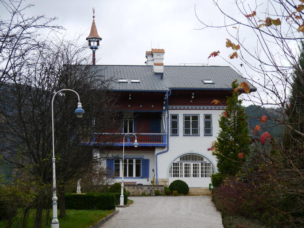 Semmering Villa Mautner Markhof Viele Villen Am Semmering Flickr