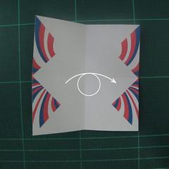 การพับกระดาษเป็นผีเสื้อแบบง่ายๆ (Easy Origami Butterfly) 002