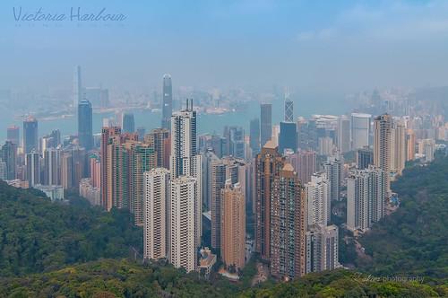 building skyline haze cityscape victoria hong kong habour nikond90 tokina1116mm zakiesphotography zakiesimage