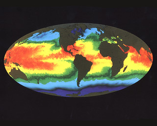 Global Sea Surface Temperature | by NASA on The Commons