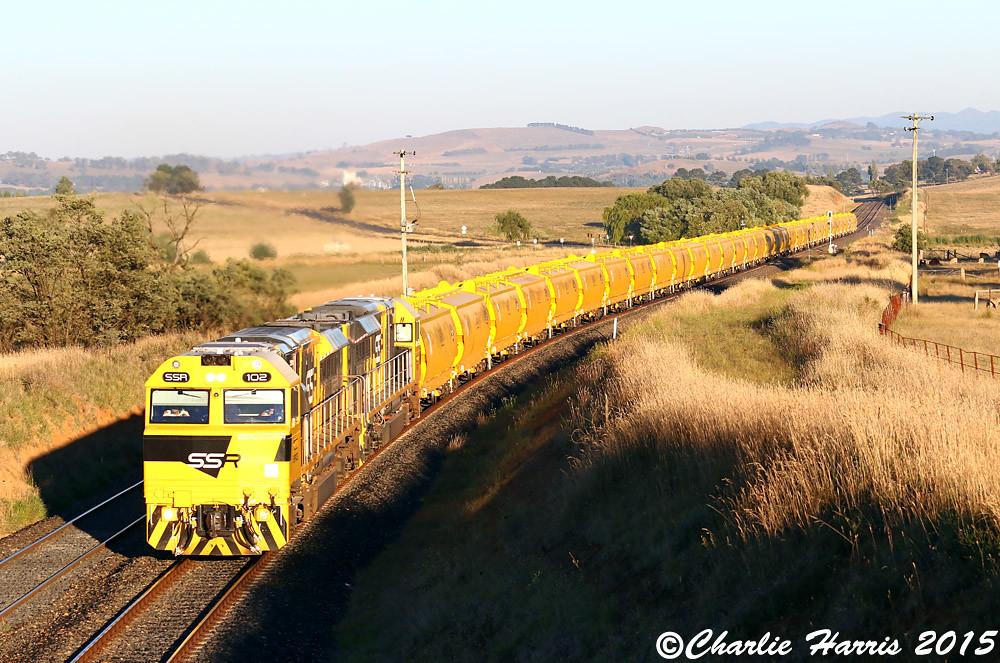 SSR102 SSR101 on 8142 Athol sm on Friday 06-02-2015 by Charlie Harris