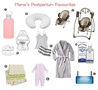 postpartum faves | by hayward_tiffany