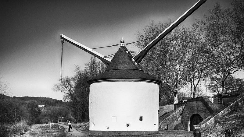 A crane at Trier