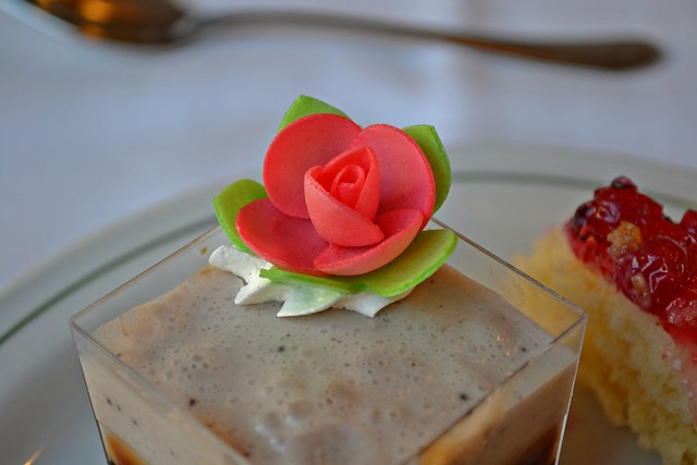 What's pink and edible? ... A wafer paper flower!