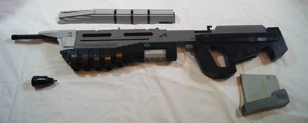 MA5C - Component parts | The gun comes into the major parts … | Flickr