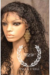 Deep Wave Full Lace Wig for Women at Fine Lace Wigs