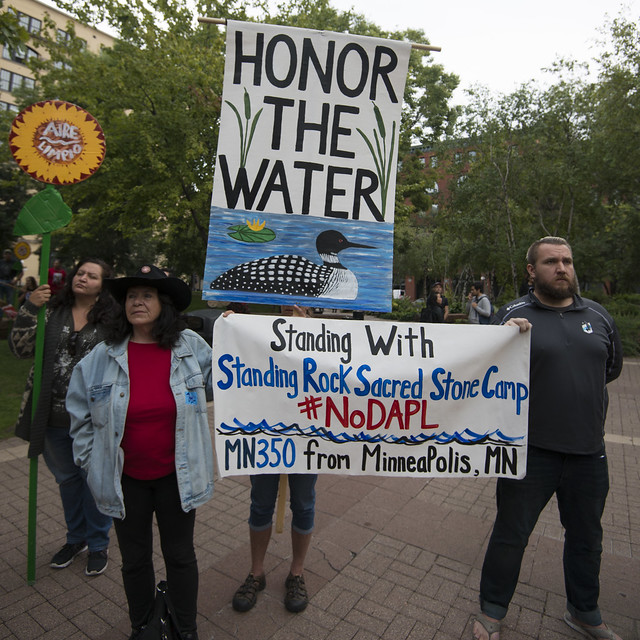 Protest against the Dakota Access Pipeline