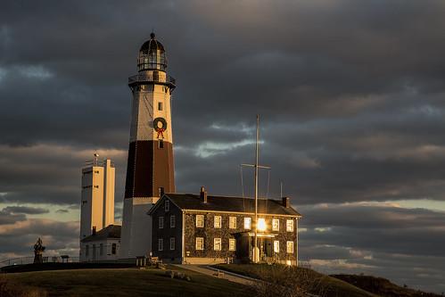 sunset lighthouse ny newyork longisland newyearseve montauk easthampton montaukpointlighthouse montaukpointstatepark montaukpointlight