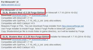 minecraft glsl shaders mod   downloadsource fr   Flickr