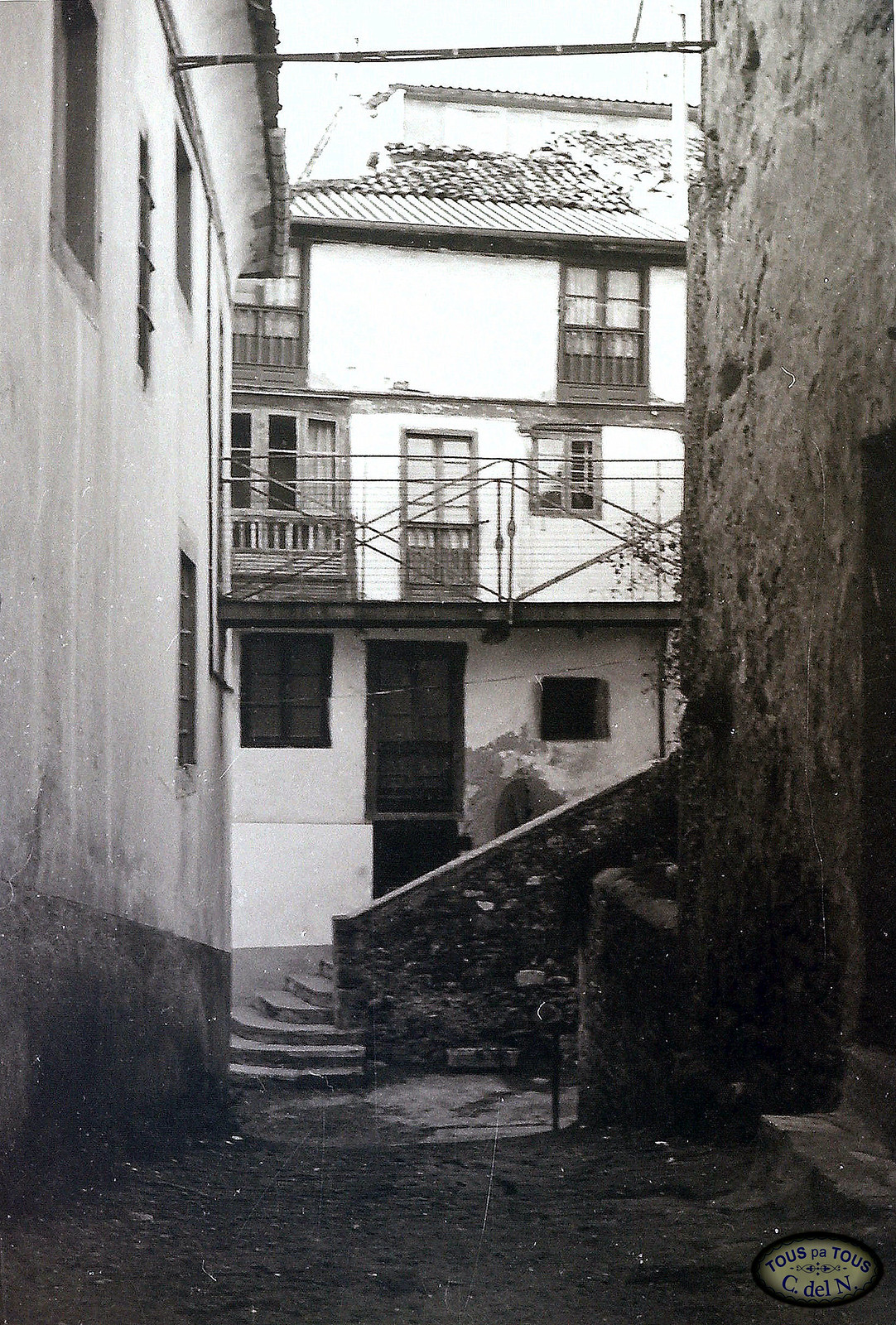 1985 - Escalera de La Fuente