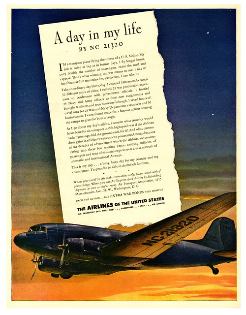 Confessions of a Transport Plane, 1943