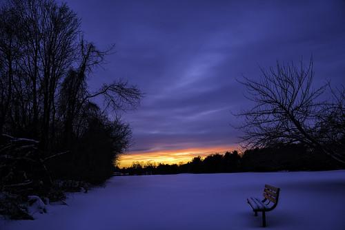 sunset snow frozenfeet zeiss2470 thefieldnextdoor sonya7r