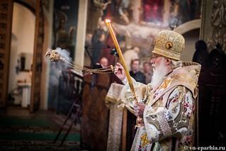 Литургия в Иверском монастыре 60