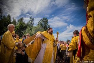 Литургия в Ильинском соборе 650