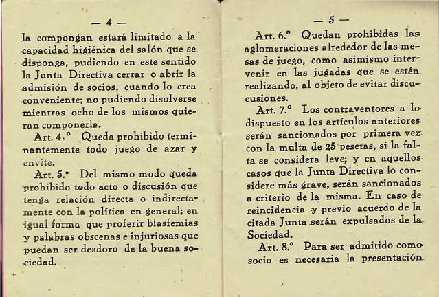 Reglamento sociedad circulo unión pinariega 1953-4 copia