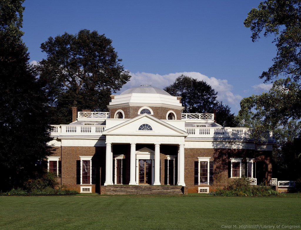 Strange Monticello Thomas Jeffersons Home Monticello Thomas Jef Home Interior And Landscaping Synyenasavecom