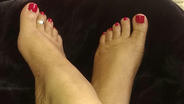 my ebony feet