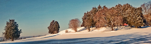blue trees winter sky snow nature landscape shadows hill annapolis