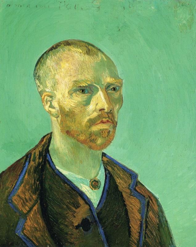 aperçu de livraison rapide luxe Autoportrait dédié à Paul Gauguin (V van Gogh - F 476 / JH ...