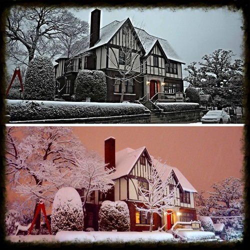 pink winter red chimney orange white snow cold reflection brick green chattanooga beautiful collage evening flickr glow tn tennessee gorgeous nighttime stonewall icy blizzard frigid snowcoveredtrees bluffviewartdistrict snowcoveredshrubs comparisonphotos bavarianstylechalet pinkhuedsky salmonhuessky