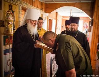 Божественная литургия в пос.Котово 300