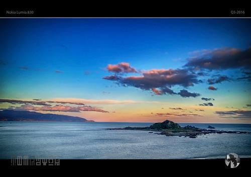 winter sunset sky sun water clouds island evening nokia islandbay 830 lumia pureview aravenimage tmraven q32016