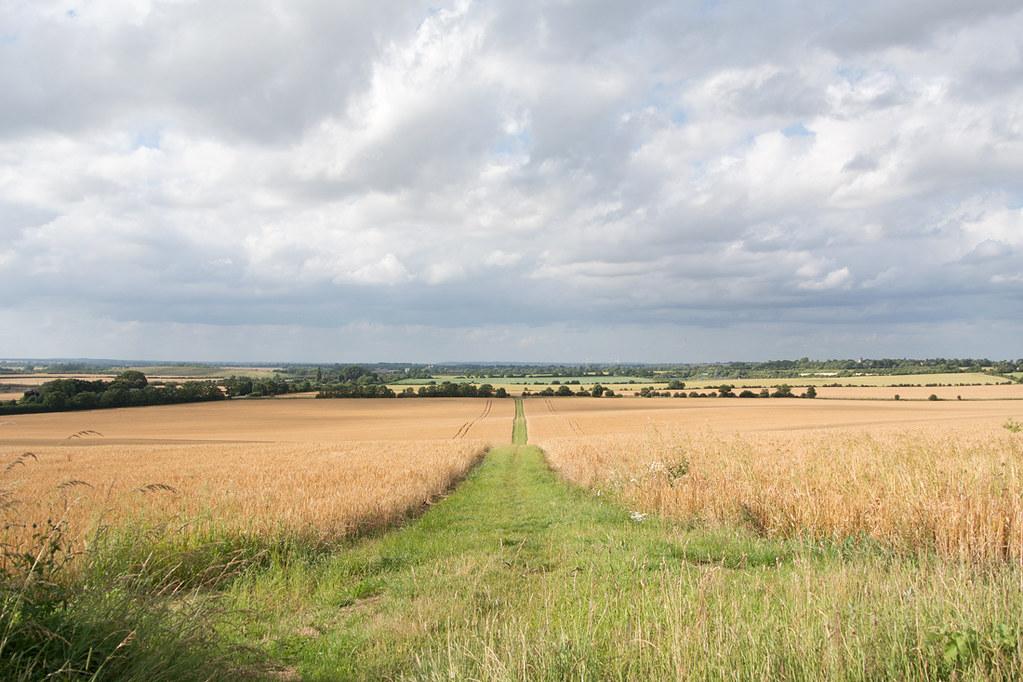 Near Ickleford Arlesey to Letchworth Garden City