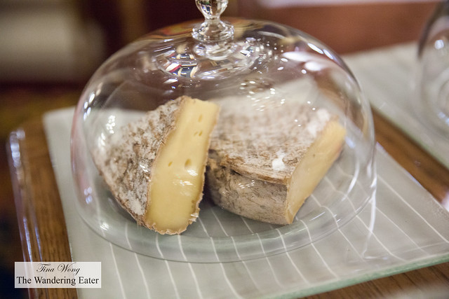 Cheese aged with Calvados