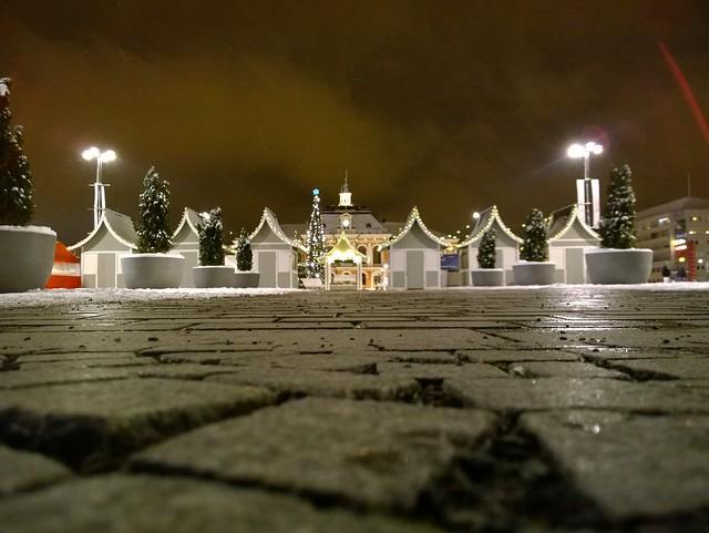 Kuopion tori ja joulutorin kopit