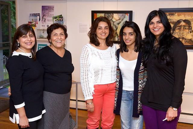Discovery: A Slice of Diversity. Group Exhibition of Ismaili Muslim Female Artists. Curated by Taslim Samji. Nov 8th-29th, 2014. Nashifa Rashid (Artist), Sher Nasser (Artist), Naznin Virji-Babu (Artist), Shazia'Ayn Babul (Artist) & Taslim Samji (Artist/Cu