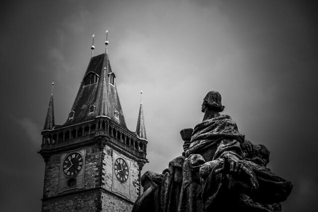 Czech Republic - Prague - Old Town (Staromestské námestí) - Jan Hus monument