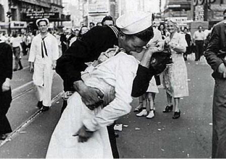 La fotografía de Eisenstaedt en Times Square