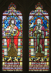 St John the Baptist and Elijah
