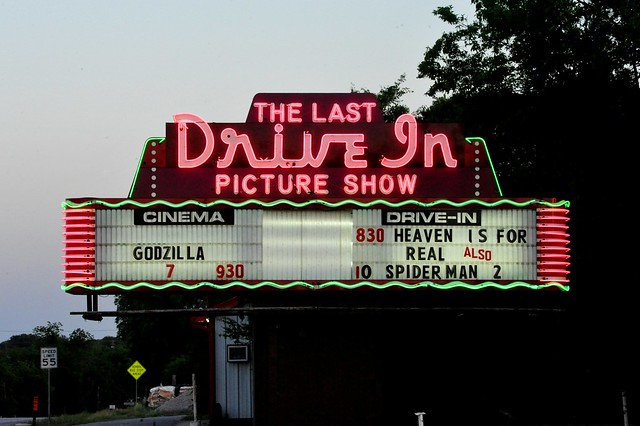 The Last Drive In Picture Show - Gatesville,Texas