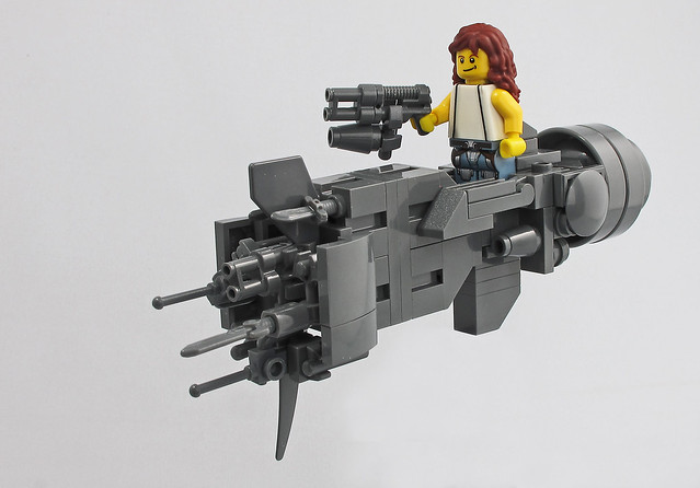 Chibi LEGO USS Sulaco Aliens