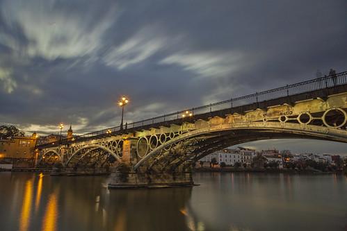 Puente de Triana Crepusculo