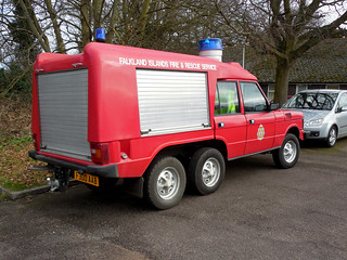 1988 Range Rover Carmichael Falkland Islands Fire and Rescue | by Spottedlaurel