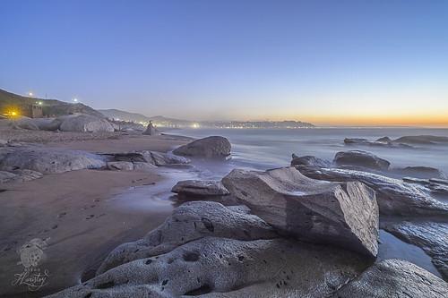 longexposure light sunset luz beach rock atardecer playa roca lalaguna exposiciónprolongada