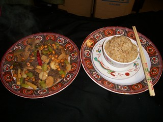 B33 Kung Pao Beef   by Golden Gate Chinese Restaurant