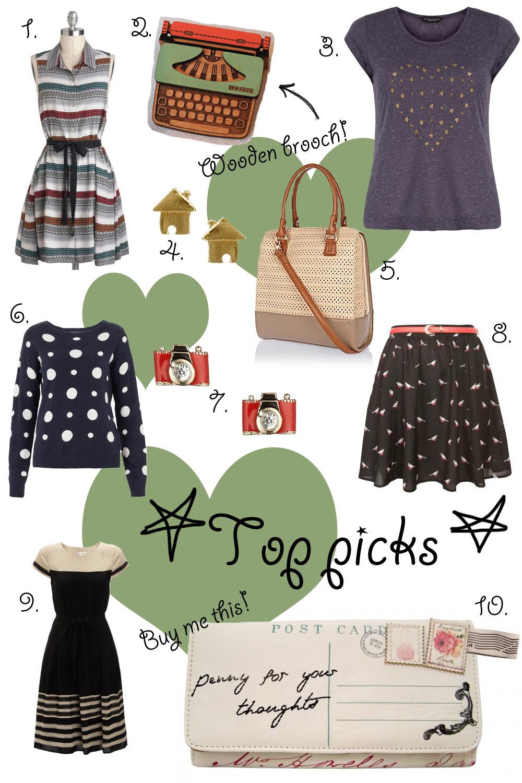 Top picks I love: week 33