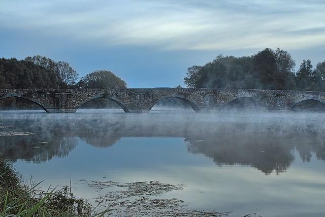 Ponte Buriano all'Alba