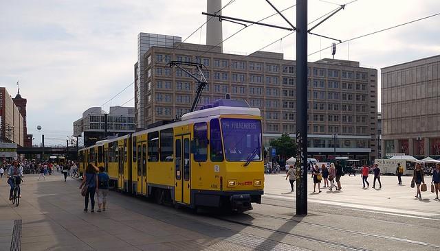 Berlin Alexanderplatz 2016 - Tatra KT4Dm